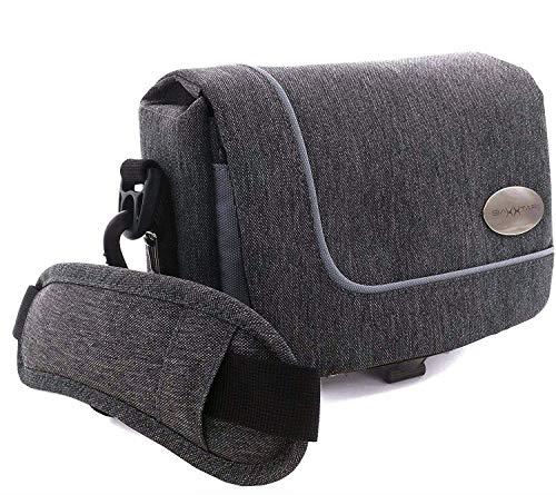 Baxxtar Camcorder und Actioncam Umhängetasche - mit Gürtelschlaufe