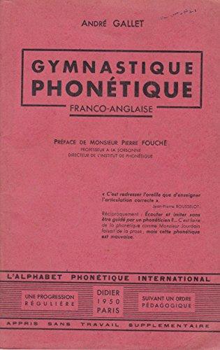 Gymnastique phonétique franco-anglaise