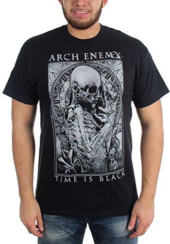 Arch Enemy-ora-Maglietta da uomo, colore: nero nero Small