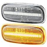 rm-style LED SEITENBLINKER kompatibel für Audi TT 8N | A8 4D | A2 8Z | A3 8L | A4 8D | A6 C5 KLARGLAS [7316]