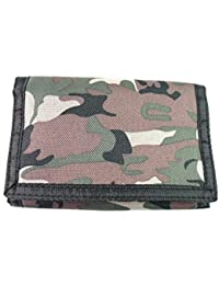 Mens Boys Camouflage Rippa New Canvas Wallet Coin Pouch Credit Card Holder Army