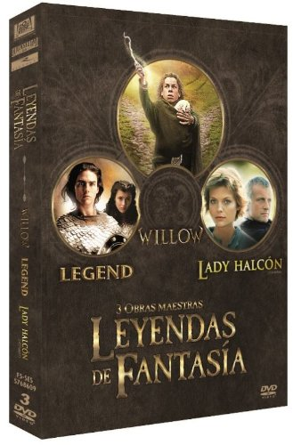 Col. Leyendas De Fantasia  (Willow /Legend / Lady Halcon) [DVD]