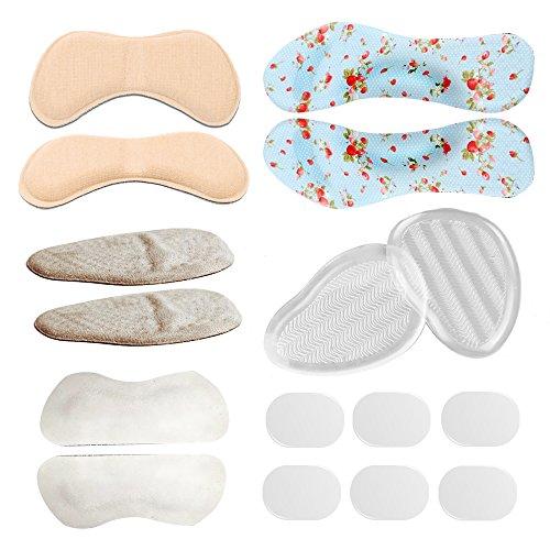 Protectores de talón Plantillas Almohadillas Cojines lunares zapatos Back insert-komfortou maletero Snug...