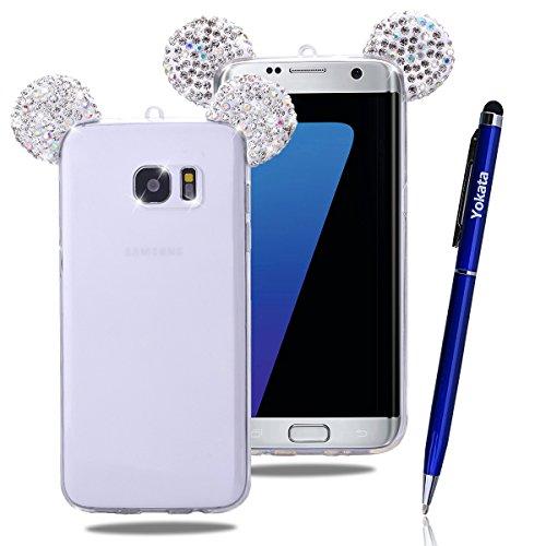 Custodia Per Samsung Galaxy S7 Edge, Yokata Bumper Gel Silicone