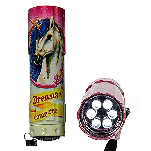 Taschenlampe ''Einhorn'' | Taschenlampe Kinder | LED | Unicorn | Preis am Stiel®