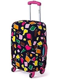 Turismo moda maleta cubierta protectora cubierta de la carretilla cubierta de la maleta de polvo 18 a 26 pulgadas