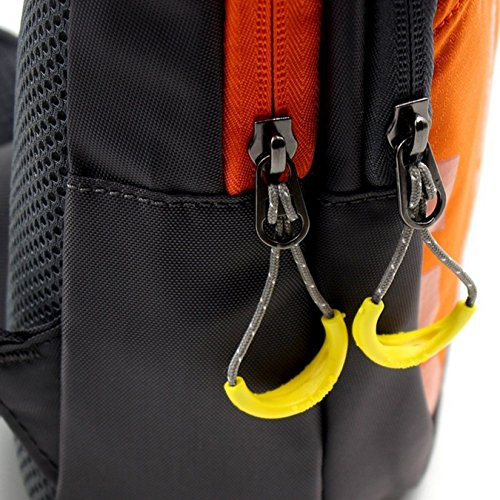 UOOOM Multifunktions Umhängetasche Schleuder Tasche Chest Pack Outdoor Sportarten Reisen nylon fabric Umhängetasche Orange