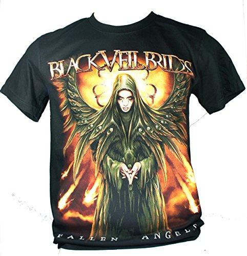 Black Veil Brides-Maglietta da uomo nero Fallen Angels Large Size L