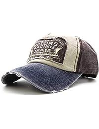 WETOO Gorras Beisbol Gorras de béisbol Gorra para Hombre Mujer Retro  Ajustable Hip Hop Casuales Sombreros 6134ab5c687