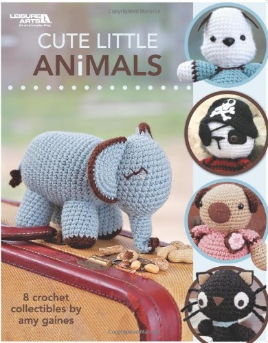 Portada del libro Cute Little Animals by Amy Gaines (1-Jan-2008) Paperback