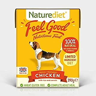 Naturediet Chicken with Vegetables and Rice Dog Food Tray, 18 x 390 g (B004WJ0LVI) | Amazon price tracker / tracking, Amazon price history charts, Amazon price watches, Amazon price drop alerts