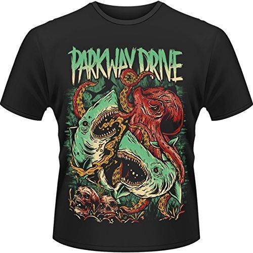 Rockabilia Parkway Drive Sharktopus T-Shirt Medium
