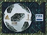 PANINI WORLD CUP 2018 STICKERS ALL EIGHT (8) SPECIAL FRONT PAGE SHINY STICKERS - #00 - 7 - PANINI LOGO, BALL, TROPHY ETC