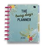 Boxclever Press 2019 Busy Days 2019 Terminplaner. Wochenkalender zur Selbstgestaltung mit Scheibenbindung, Monats- & Wochenübersichten, Taschen, Stickern u.v.m.! Maße: 26 x 22 x 3,2 cm