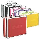 AR CarryBox Kleiner Alukoffer Werkzeugkoffer Aluminium Koffer leer 260x210x80mm verschiedene Farben,...