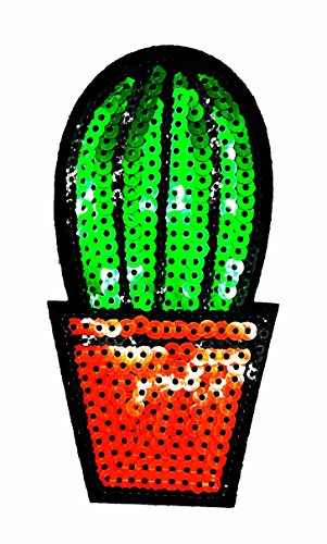 rabana Kaktus hitzebeständig in der Wüste Cartoon Kids Kinder Cute Animal Patch für Heimwerker-Applikation Eisen auf Patch T Shirt Patch Sew Iron on gesticktes Badge Schild Kostüm (Niedliche Kaktus Kostüm)