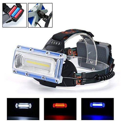 SOMESUN 5 Modes Imperm/éable Lumi/ère forte Lampe frontale 20000LM 4x XM-L T6 LED Rechargeable Confortable Zoomable Lampe frontale Lumi/ère de la t/ête Lampe de poche