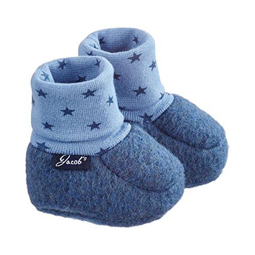 Baby-Schlupfschuhe Filz Sterne