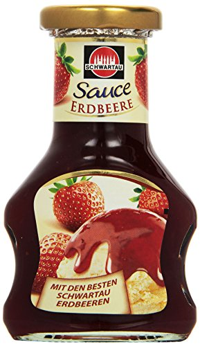 Schwartau Dessert Sauce Erdbeere, 125 ml