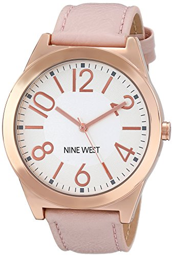 nine-west-womens-quartz-watch-with-white-dial-analogue-display-and-pink-pu-strap-nw-1660svpk