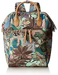 Oilily Damen Backpack Rucksack, 11.5x40x27 cm