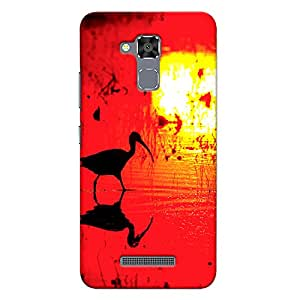 CrazyInk Premium 3D Back Cover for Asus Zenfone 3 Max (5.2inch) - Sunset Art