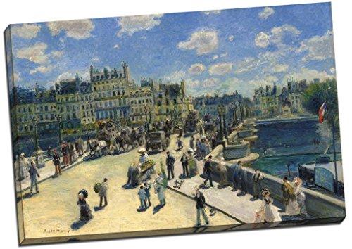 Auguste Renoir Le Pont Neuf Paris Leinwanddruck Bild Wall Art Großer 76,2x 50,8cm