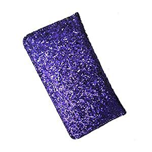 i-KitPit : PU Leather Wallet Flip Pouch Case For Sony Xperia E1 / E1 Dual (PURPLE)