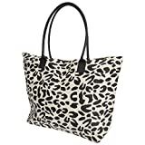 Borsa Estiva - Stampa animalier - Donna (Taglia unica) (Leopardo)