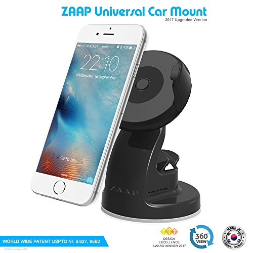 zaap® (usa) quicktouch three premium car mount mobile holder universally compatible for car windshield, car dashboard & working desks (3rd generation upgrade-made in korea) ZAAP® (USA) QUICKTOUCH Three Premium Car Mount mobile holder Universally Compatible for Car Windshield, Car Dashboard & Working Desks (3rd Generation upgrade-Made in KOREA) 51 PM iXALL