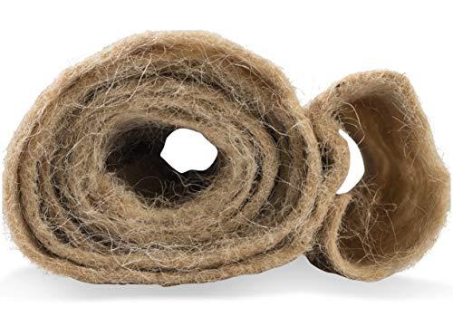 Windhager Vliesmatte Thermovlies Winterschutz Kälteschutz Frostschutz für Pflanzen, Natur, 38 x 150 cm, 300 g/m²,06554