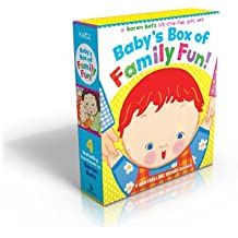 Baby's Box of Family Fun!: A 4-Book Lift-The-Flap Gift Set: Where Is Baby's Mommy?; Daddy and Me; Grandpa and Me, Grandma and Me
