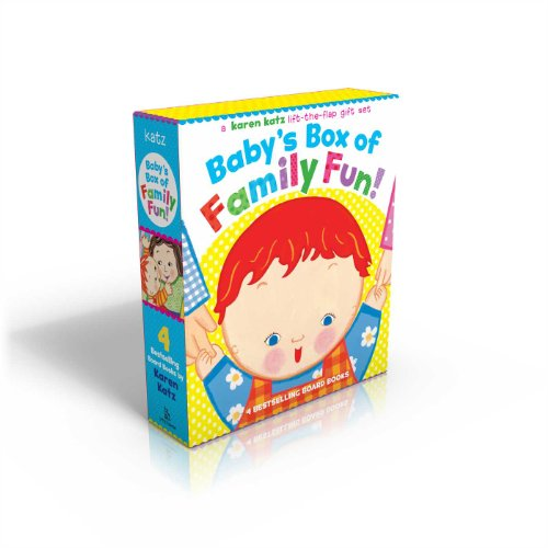 Baby's Box of Family Fun!: A 4-Book Lift-The-Flap Gift Set: Where Is Baby's Mommy?; Daddy and Me; Grandpa and Me, Grandma and Me por Karen Katz