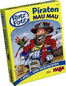 Haba 7125Loco Lingo Pirates Mau Mau Jeu