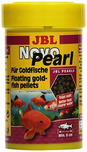 JBL NovoPearl 30299 Alleinfutter für Goldfische, Granulat 100 ml