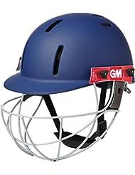 Gunn & Moore Cricket Batsman cabeza protección Purist Geo Casco Azul Marino SNR o Jnr, color azul marino, tamaño infantil