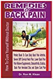REMEDIES OF BACK PAIN: How to cure yourself (Pharmaceutical Method)