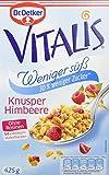 Dr. Oetker Vitalis Weniger süß Knusper Himbeere, 7er Pack (7 x 425 g)