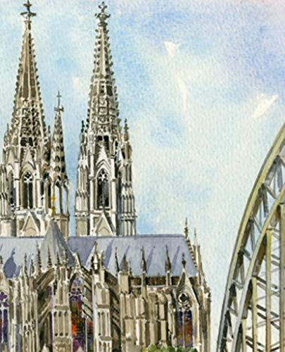 iette Stadt Dom Kirche 20 Stück 3-lagig 33x33cm ()