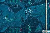 Lillestoff Bio Jersey/Meerjungfrau/50x160 cm