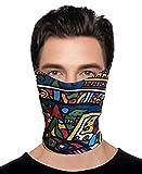 #2: Hi-Life 10 in1 Multifunctional Unisex Bandana, Headwrap, Balaclava Free Size - Maze Bandana