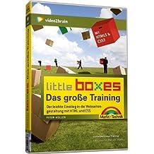 Das große Little Boxes-Video-Training. Webseiten gestalten mit HTML & CSS