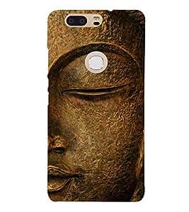 Buddha 3D Hard Polycarbonate Designer Back Case Cover for Huawei Honor V8