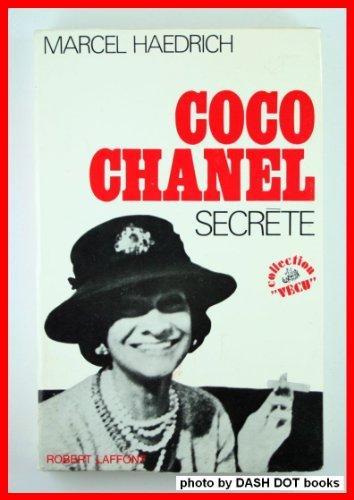 Coco chanel secrete par Haedrich Marcel