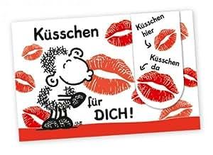 Sheepworld Lesezeichen Küsschen für Dich 8: Amazon.de