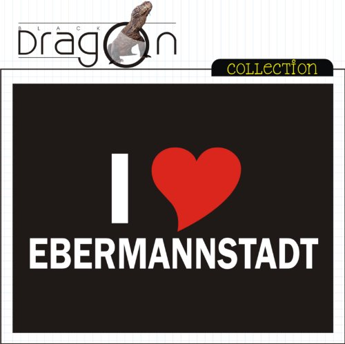 T-Shirt mit Städtenamen - i Love Ebermannstadt - Herren - unisex Weiß