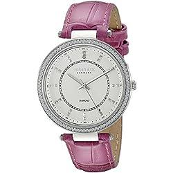 Johan Eric Women's JE1000B-04-001.8 Ballerup Analog Display Quartz Pink Watch