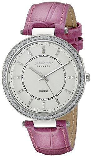 Johan Eric JE1000B-04-001.8 - Reloj de pulsera Mujer, color Rosa