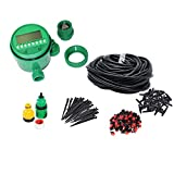 Best Timers For Waterings - Himifuture 82FT Drip Irrigation Kit with Timer Sprinklers Review