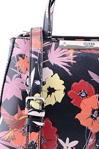 Guess Hwff6693050, Borsa a Mano Donna, 12 x 22.5 x 28.5 cm (W x H x L) Multicolore (Blk Floral)